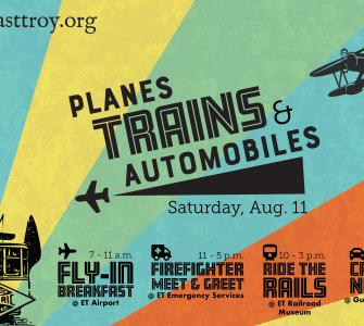East Troy Chamber Planes Train Auto Plain