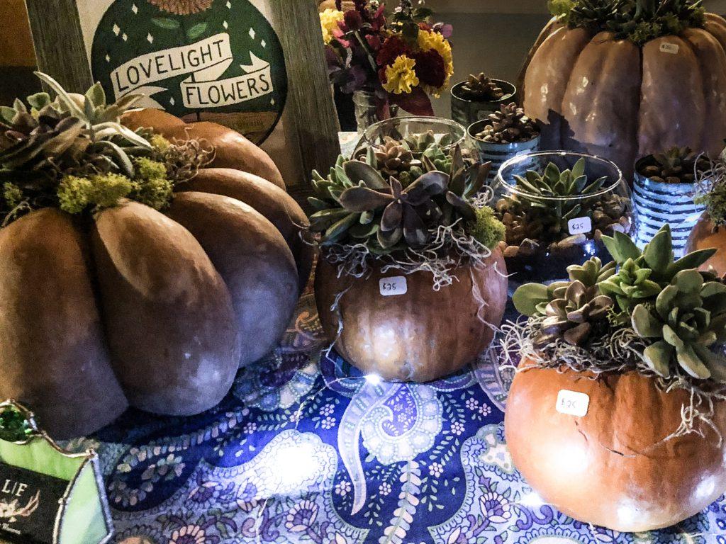 East Troy Chamber Art & Wine Walk | Lovelight Flowers' Display