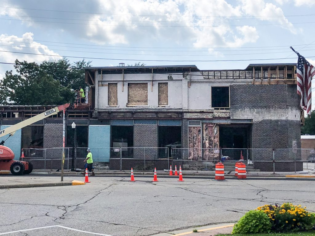 East Troy Brewery Construction Beginning