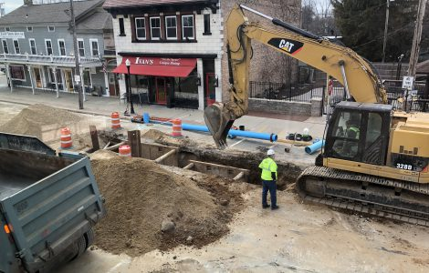 East Troy Road Digging