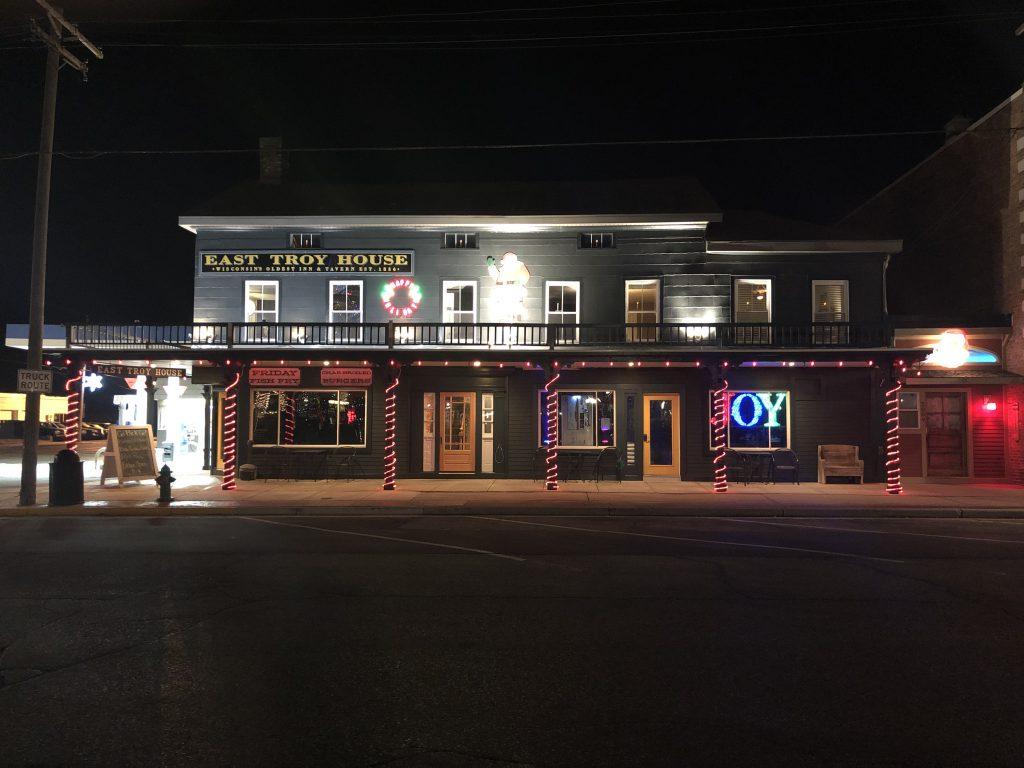 East Troy House Christmas