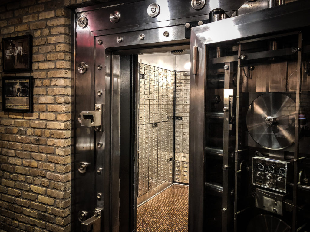 East Troy Brewery Vault Door
