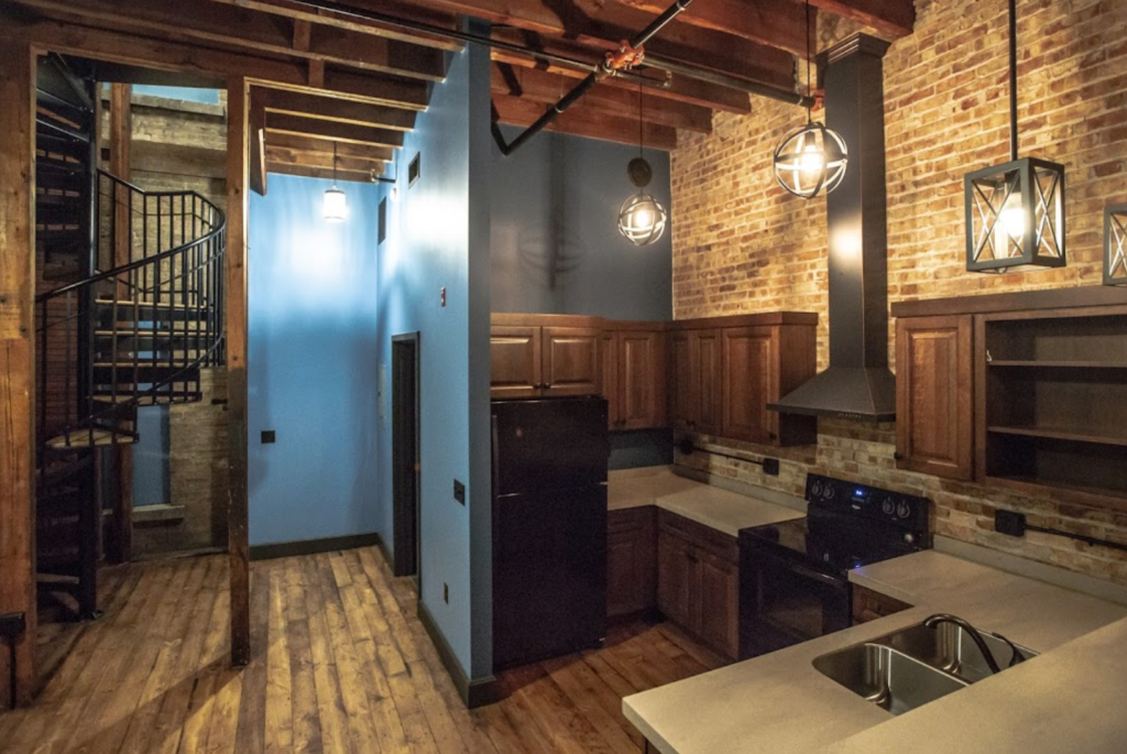 Inside Kinove Apartment on the East Troy Square
