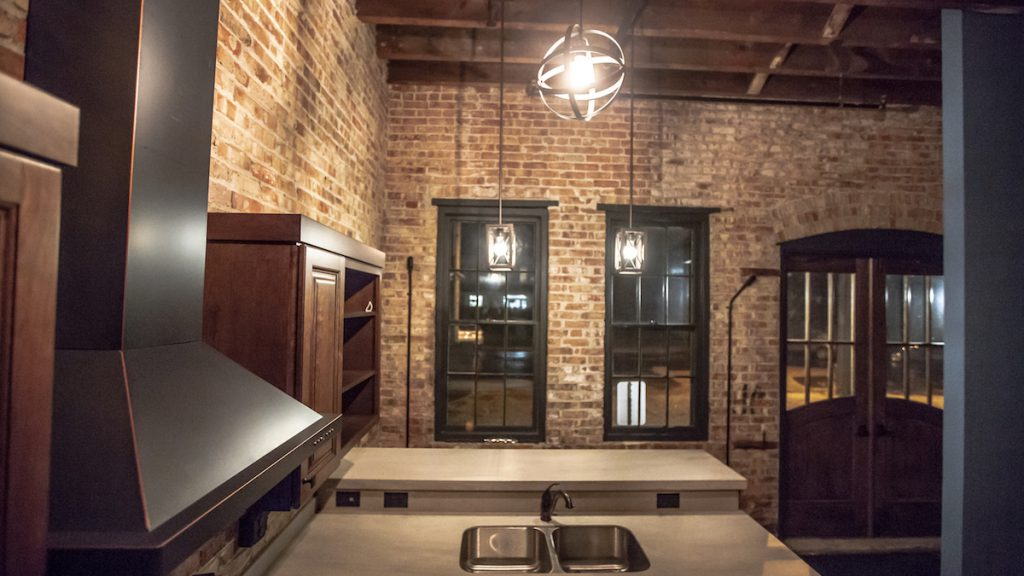 Inside Kinove Apartments on East Troy Square